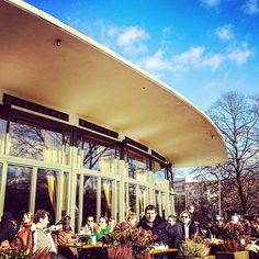 Nola's am Weinberg in Berlin, Berlin - good for brunch, in a park. But fills up fast and a bit expensive (12 euro for brunch buffet)