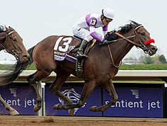 Nyquist cemented his status as the early favorite for next year's Kentucky Derby Presented by Yum! Brands (gr. I) when the undefeated colt kicked clear leaving the second turn to win the Sentient Jet Breeders' Cup Juvenile. 10/31/15