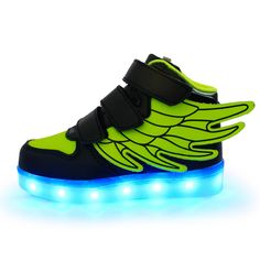 best service b7027 06486 Kids Sports Sneakers New Arrival Charging Luminous Lighted Colorful LED  Lights Children Sports Shoes Eur25-