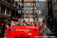 #bustours #travels #life Tour Quotes, Why Book, Local Tour, Tour Operator, Us Travel, New York City, Tours, Life, New York