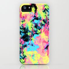 Blacklight Neon Swirl iPhone Case by Caleb Troy | Society6