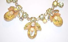 Signed Regency Jewels Necklace by LustfulJewels on Etsy