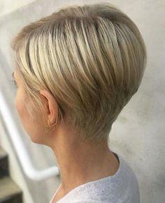 Outstanding short haircut on blonde hair - Short Hairstyles - . - Outstanding short haircut on blonde hair – Short Hairstyles – - Short Hairstyles For Thick Hair, Short Hair Styles Easy, Short Pixie Haircuts, Pixie Hairstyles, Bob Haircuts, Men's Hairstyle, Short Blonde, Blonde Hair, Blonde Pixie Haircut