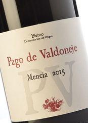 Pago de Valdoneje Mencía 2015 5,90 € Vino tinto joven, Bierzo Vinos Valtuille Mencía 91 Parker
