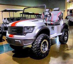 Ford F-150 Golf Cart **Commander Cody**