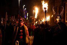 Samhuinn Celtic festival of fire blazes a trail to host record crowd | Edinburgh