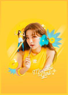 by Mondai-Girl on DeviantArt Sleeve Designs, Picture Design, K Idols, Graphic Design Inspiration, Portfolio Design, Cute Art, Picsart, Red Velvet, Photo Editing