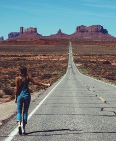 Down this dusty road alone, who knows what comes?
