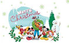 Disney Christmas - Disney Wallpaper (32956746) - Fanpop fanclubs