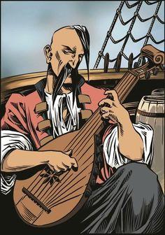 Казак-музыкант