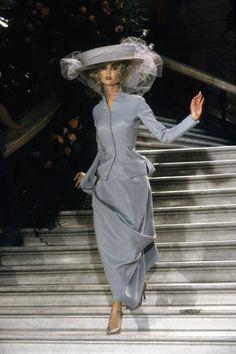 Christian Dior Spring 1998 Couture Fashion Show - Suzanne von Aichinger