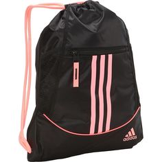 adidas Alliance II Sackpack (€14) ❤ liked on Polyvore featuring bags cc417e3a3f809