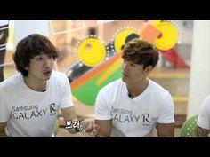 120724 Samsung Galaxy R Starring (Kim Jong Kook, Lee Kwang Soo, Gary, & Hyorin)