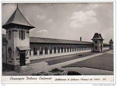 Stabilimenti Compagnia Italiana Cincinnati - via Fagnani    Sedriano