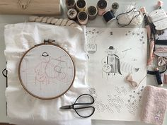 Miga de Pan | modern handmade for babies, kids and home {so excited to have Adriana teaching an embroidery workshop for us!}