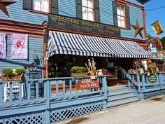 Weston Village Store, Weston Vermont http://visitingnewengland.com/blog-cheap-travel/?p=7185