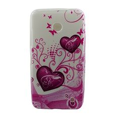Yakamoz Love Two Hearts Soft Gel Flexible Silicone Skin Case Cover for Nokia Lumia 630/ 635 (Not Fit for Smooth Back Cover Version) with Free Screen Protector & Stylus Pen Yakamoz http://www.amazon.com/dp/B00MNII8FG/ref=cm_sw_r_pi_dp_z5Eoub0ACR9B9