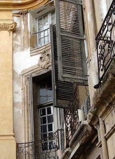 France Travel Inspiration - Shutters, Avignon, France photo via pamela