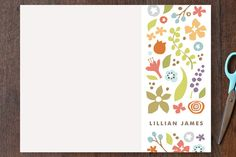 Garden Party by Jennifer Wick at minted.com
