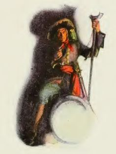 Talk Like a Pirate Day!  N.C. Wyeth, «Long John Silver», The Vailima Edition of the Works of Robert Louis Stevenson, New York, P.F. Collier & Son, 1912. Pirate Food, Pirate Day, Pirate Life, Famous Pirates, Nc Wyeth, Howard Pyle, Long John Silver, Romper Room, Mediums Of Art