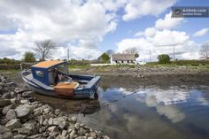 Thatched Cottage on Galway Bay in Galway