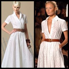 The white dress inspired by the film Under The Tuscan Sun