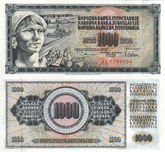 1000 SFR Yugoslavia Dinars [1978]