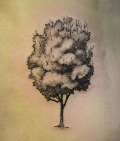 tree for possible (forest tattoo that id love to get started)