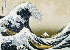 Great Wave Of Kanagawa Giant Poster (03-0416) - BLUE DOG