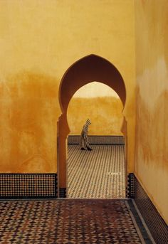 africanstories: Morocco.Meknes.Moulay Ismael Mausoleum.1985 More on africanstories.tumblr.com