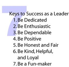 how to become a successful leader