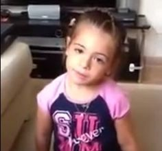 See a Little Girl's Adorable Reaction When Her Dad Tries to Trick Her Into Promising She'll Never Have a Boyfriend