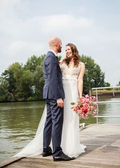 Wedding dress by Hillenius Couture, based in Haarlem, the Netherlands