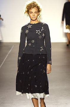 Project Alabama Spring 2006 RTW ....the stars stencil is just divine