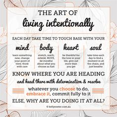 The art of living intentionally - Why live an intentional life?