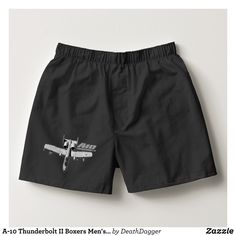 A-10 Thunderbolt II Boxers Men's Undergarments - Dashing Cotton Underwear And Sleepwear By Talented Fashion And Graphic Designers - #underwear #boxershorts #boxers #mensfashion #apparel #shopping #bargain #sale #outfit #stylish #cool #graphicdesign #trendy #fashion #design #fashiondesign #designer #fashiondesigner #style