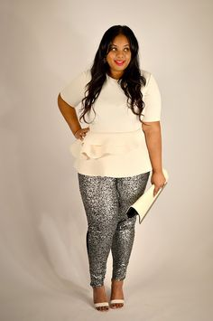 Supersize My Fashion | A Plus Size Fashion Blog Sequin is the new black!
