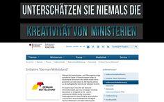 Gesellschaftsforum Forum Gesellschaft Info Ministerium Mittelstand BRD Kampagne