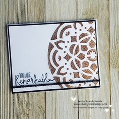 Friday Innovate: Stampin'Up! Embossing Paste Mix or Sprinkle!