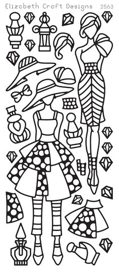 Elizabeth Craft Designs PeelOff Sticker 2563B by PNWCrafts on Etsy, $2.10