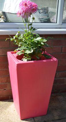 Ecosure Barrington garden planter - Pink