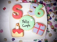 We Can Bake It!: galletas decoradas para cumpleaños