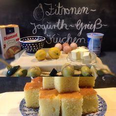 Back's mir: Zitronen-Jogurth-Grieß-Kuchen – oder – Hier haben die Zitronen keine Chance zum Sauermachen ;-) | Lilamalerie.de