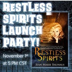 #booktoberfest Day 24: Favorite Book Party! I love a good Facebook launch party and I'm pleased to be taking part in the Facebook party for my fellow Vinspire author @jmbauhaus on Nov. 1! Come join us! I'll be running the show from 5:00-5:45 pm Central and then other great authors will take over.