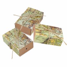 50Pcs/lot Vintage Wedding Candy Box Kraft Paper World Map Gift Bag for Wedding Favors and Gifts Boxes with Burlap Twine Chic-in Candy Boxes from Home & Garden on Aliexpress.com | Alibaba Group