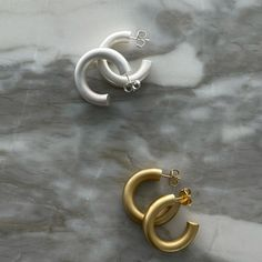 """@79hour on Instagram: """"YOUR FAVORITE HOOPS ARE FINALLY BACK IN STOCK #BoldHoops 🤎 this time they also come in a matte finish #79hour"""" Jewel Box, Lady Dior, Jewels, Bags, Instagram, Handbags, Jewerly, Jewelry Box, Gemstones"""