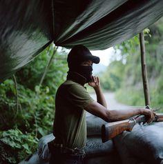 Miembro de un grupo de autodefensa en Michoacán, México.