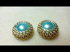 ▶ DIY - incastonatura mezze perle (Dome beads) da 14 mm - YouTube