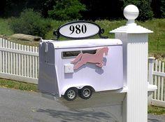 Horse Trailer Mailbox need!
