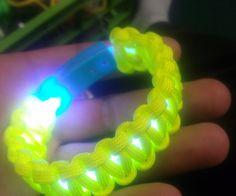 Glowing Paracord Bracelet